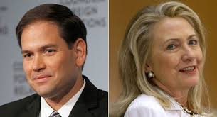 Rubio and clinton