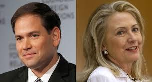 Rubio and clinton